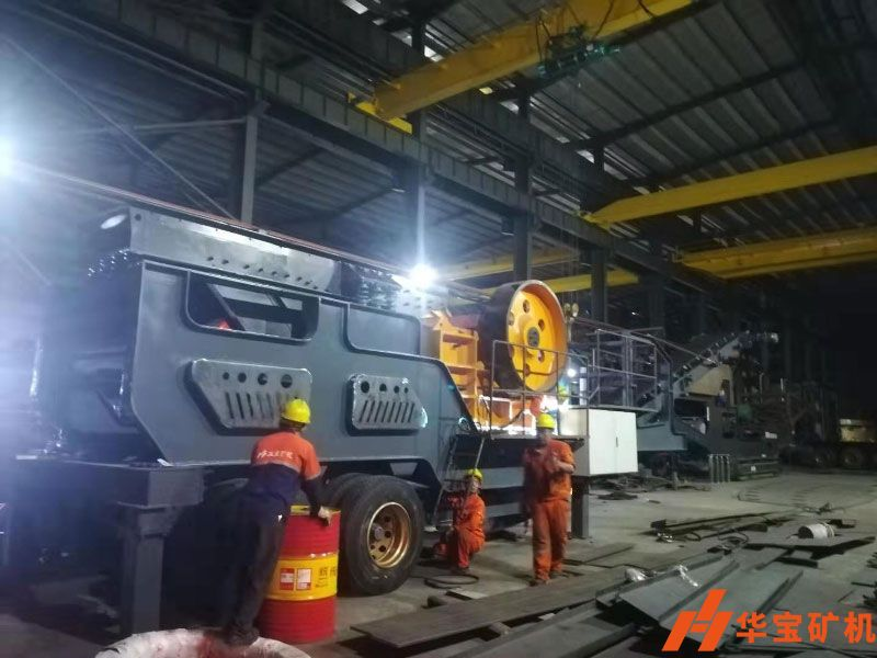 Hpower mobile crusher helps Shenzhen airport expansion infrastructure